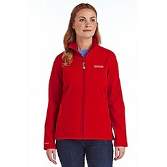 Regatta - Pink connie softshell jacket
