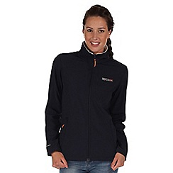 Regatta - Navy blue connie softshell jacket