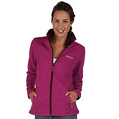Regatta - Blackcurrant connie softshell jacket