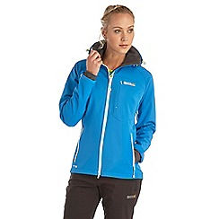 Regatta - Bright blue desoto softshell jacket