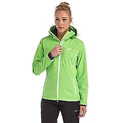 Regatta - Lime desoto softshell jacket
