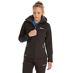 Regatta - Black desoto softshell jacket