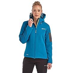 Regatta - Bright blue clearwater softshell jacket