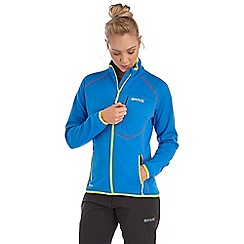 Regatta - Bright blue abney softshell jacket