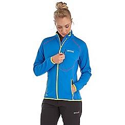 Regatta - Bright blue abney softshell jacket