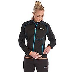 Regatta - Black abney softshell jacket