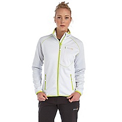 Regatta - White abney softshell jacket