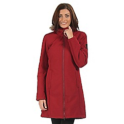 Regatta - Red Adhara longline softshell jacket