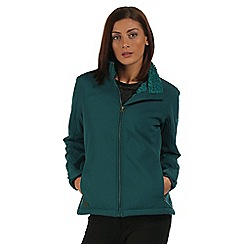 Regatta - Teal Tulsie softshell jacket