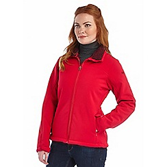 Regatta - Red tulsie softshell jacket