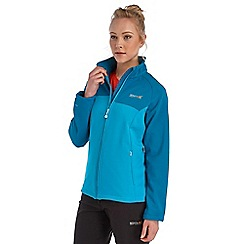 Regatta - Blue nebraska softshell jacket