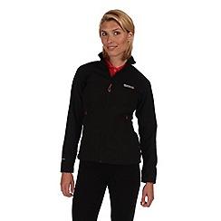 Regatta - Black(black) nebraska softshell jacket