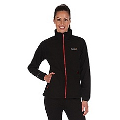 Regatta - Black tugela softshell jacket