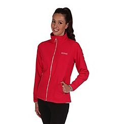 Regatta - Pink tugela softshell jacket