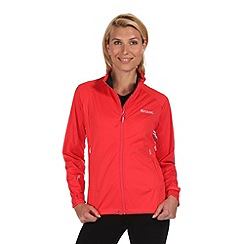 Regatta - Pink shyann softshell jacket
