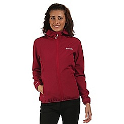 Regatta - Pink Arec sporty hooded jacket