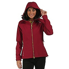 Regatta - Pink Desoto softshell jacket
