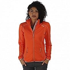 Regatta - Orange Sumatra soft shell jacket