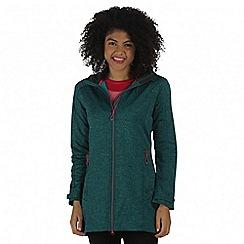 Regatta - Teal Lilywood soft shell jacket
