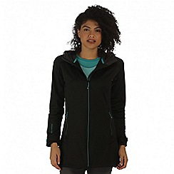 Regatta - Black Lilywood soft shell jacket
