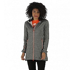 Regatta - Grey Lilywood soft shell jacket