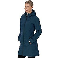 Regatta - Blue 'Adelma' softshell jacket