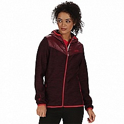 Regatta - Purple 'Harra' hybrid softshell jacket