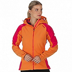 Regatta - Orange 'Desoto' softshell jacket