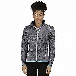 Regatta - Grey 'Catley' hybrid softshell jacket