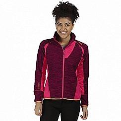 Regatta - Pink 'Catley' hybrid softshell jacket