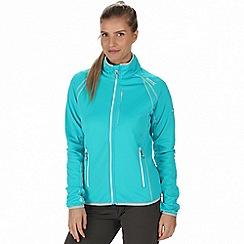 Regatta - Blue 'Abney' softshell jacket