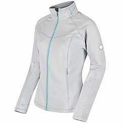 Regatta - Grey 'Estell' hybrid softshell jacket