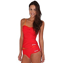 Regatta - Red briony tankini