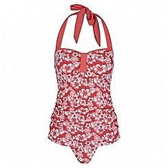 Regatta - Coral Verbenna swim costume