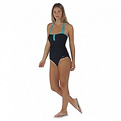 Regatta - Navy Verbenna swim costume