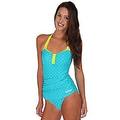Regatta - Aqua verbenna swimsuit