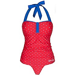 Regatta - Red verbenna swimsuit