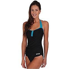 Regatta - Black verbenna swimsuit