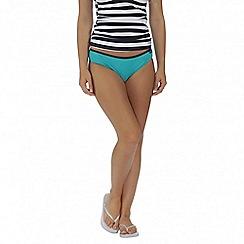 Regatta - Teal Aceana bikini brief