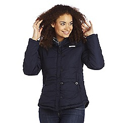 Regatta - Navy wintertime quilted jacket