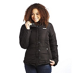 Regatta - Black wintertime quilted jacket