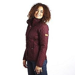 Regatta - Dk burgundy buntie jacket