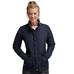 Regatta - Navy mollie quilted jacket