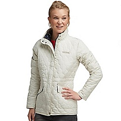 Regatta - White mollie quilted jacket