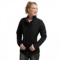 Regatta - Black mollie quilted jacket