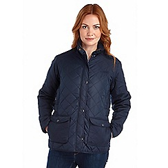 Regatta - Navy missy quilted jacket