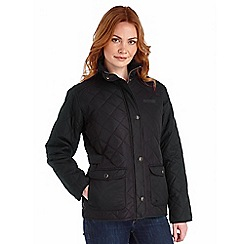 Regatta - Black missy quilted jacket