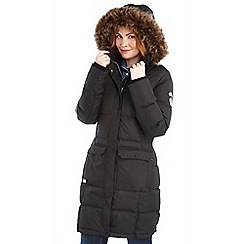 Regatta - Black adena down parka