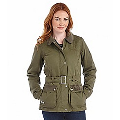 Regatta - Khaki myriam waxed jacket