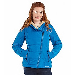 Regatta - Petrol blue willa insulated non waterproof jacket